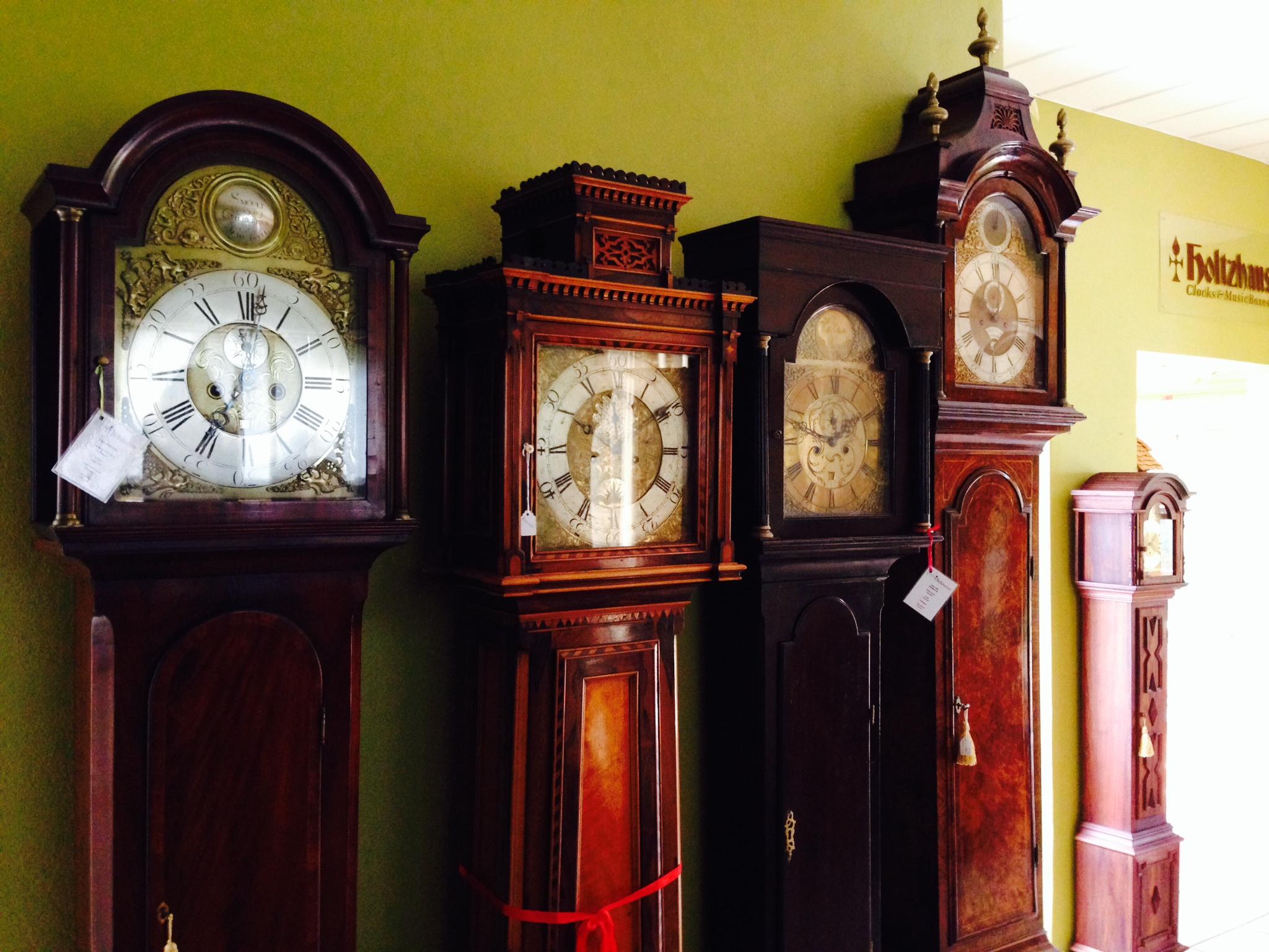 retired howard miller grandfather clocks