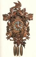 Cuckoo Clock Grapes