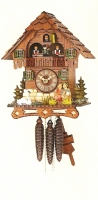 Cuckoo Clock Kissing Couple