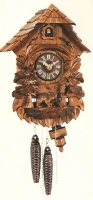 Cuckoo Clock Owl and Bear